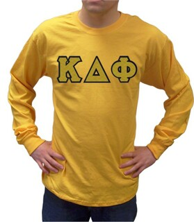 Kappa Delta Phi Sewn Lettered Long Tee