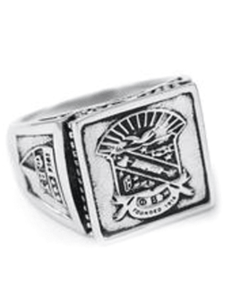 Phi Beta Sigma  Sterling Silver Ring