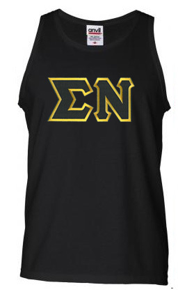 DISCOUNT- Sigma Nu Lettered Tank Top