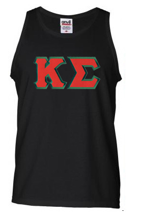 DISCOUNT- Kappa Sigma Lettered Tank Top