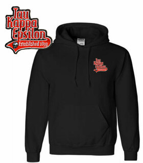 Fraternity Emblem Tail Hooded Sweatshirt