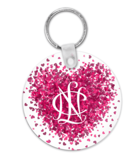 National Charity League  Conference Heart Key Chain