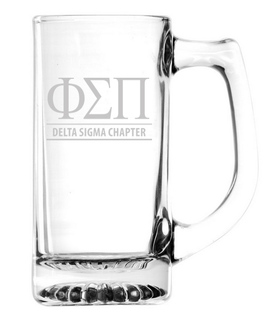 Phi Sigma Pi Custom Engraved Mug