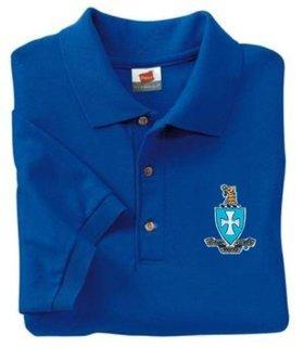 DISCOUNT-Sigma Chi Crest - Shield Polo