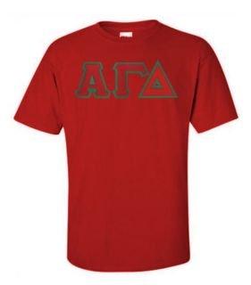 $19.99 Alpha Gamma Delta Custom Twill Tee
