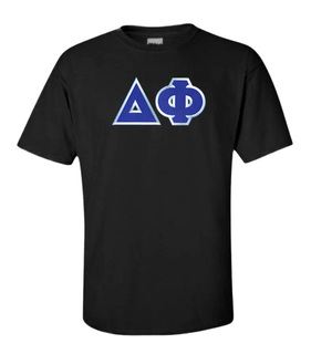 DISCOUNT Delta Phi Lettered Tee