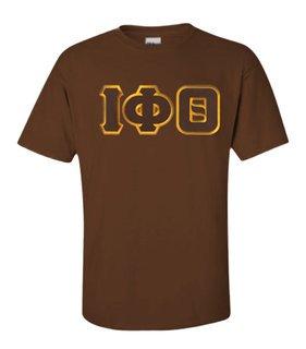 DISCOUNT Iota Phi Theta Lettered T-shirt