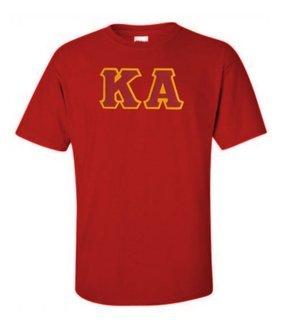 DISCOUNT Kappa Alpha Lettered T-shirt