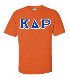 Kappa Delta Rho Custom Twill Short Sleeve T-Shirt