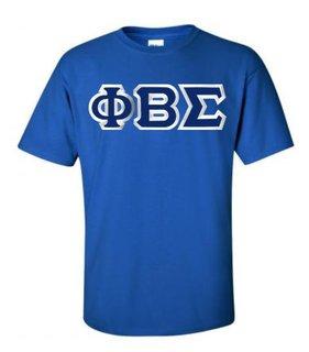 $15 Phi Beta Sigma Custom Twill Short Sleeve T-Shirt