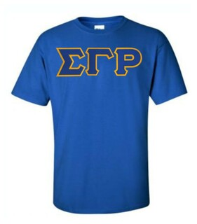 DISCOUNT Sigma Gamma Rho Lettered Tee