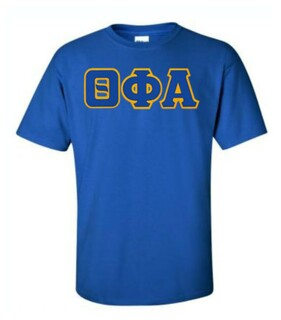 DISCOUNT Theta Phi Alpha Lettered Tee