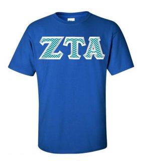 $19.99 Zeta Tau Alpha Custom Twill Tee