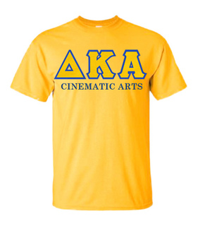 $19.99 Delta Kappa Alpha Custom Twill Short Sleeve T-Shirt