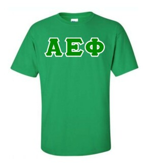 Alpha Epsilon Phi Lettered Shirts