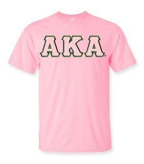 Alpha Kappa Alpha Lettered Shirts