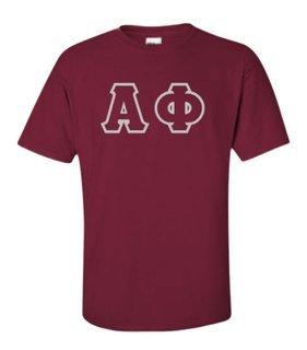 Alpha Phi Lettered Shirts