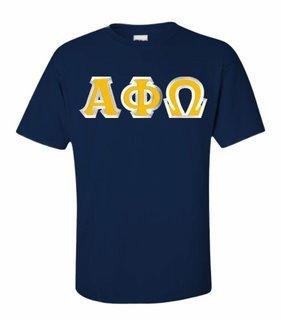 Alpha Phi Omega Lettered T-Shirt