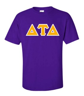 Delta Tau Delta Lettered T-Shirt