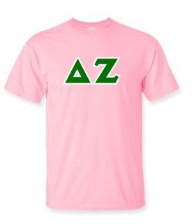 Delta Zeta Lettered Shirts