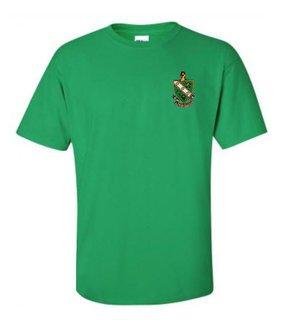 DISCOUNT-FarmHouse Fraternity Crest - Shield Emblem Shirt