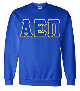 Jumbo Twill Alpha Epsilon Pi Crewneck Sweatshirt