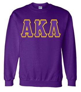 Jumbo Twill Alpha Kappa Lambda Crewneck Sweatshirt