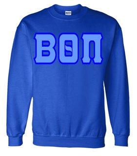 Jumbo Twill Beta Theta Pi Crewneck Sweatshirt