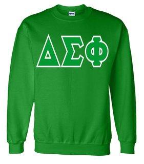 Jumbo Twill Delta Sigma Phi Crewneck Sweatshirt