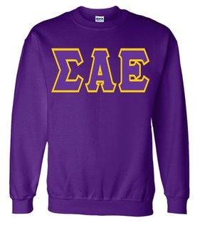 Jumbo Twill Sigma Alpha Epsilon Crewneck Sweatshirt