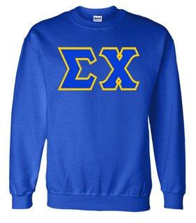 Jumbo Twill Sigma Chi Crewneck Sweatshirt