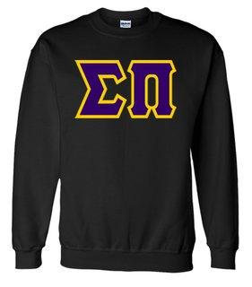 Jumbo Twill Sigma Pi Crewneck Sweatshirt