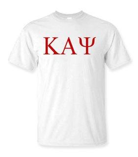 Kappa Alpha Psi Lettered Tee - $9.95!