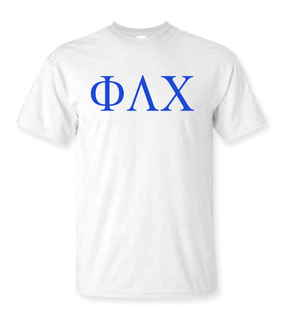Phi Lambda Chi Lettered Tee - $9.95!