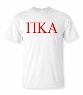 Pi Kappa Alpha Lettered Tee - $9.95! - MADE FAST!