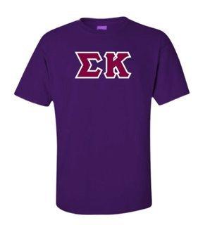 Sigma Kappa Lettered Shirts