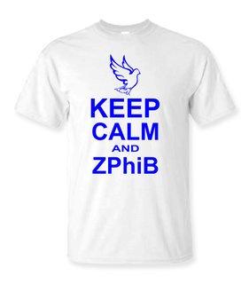 Zeta Phi Beta Keep Calm T-Shirts