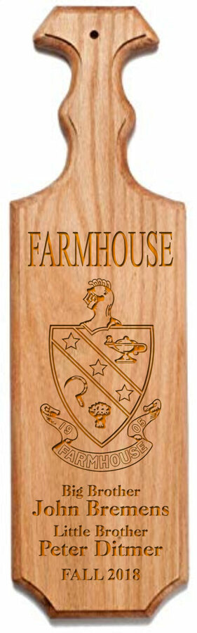 FARMHOUSE Traditional Greek Paddle