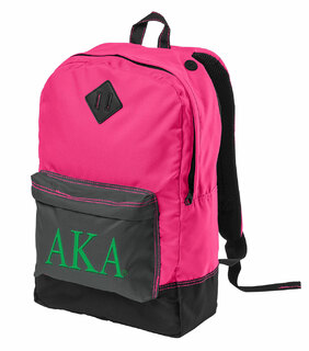 Alpha Kappa Alpha Retro Backpack
