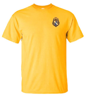 Alpha Phi Omega Crest Patch T-Shirt