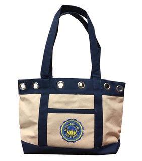 DISCOUNT-Delta Delta Delta Canvas Tote Bag - ON SALE!