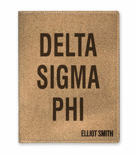 Delta Sigma Phi Cork Portfolio with Notepad