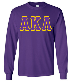 Jumbo Twill Alpha Kappa Lambda Long Sleeve Tee
