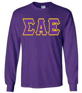 Jumbo Twill Sigma Alpha Epsilon Long Sleeve Tee