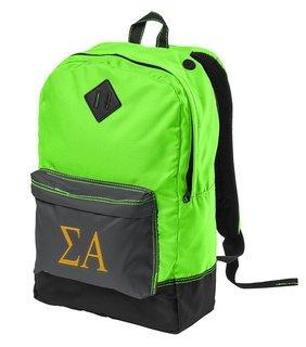 Sigma Alpha Retro Backpack