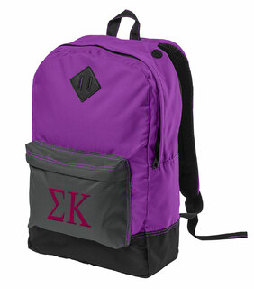 Sigma Kappa Retro Backpack