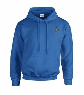 DISCOUNT-Sigma Tau Gamma Crest - Shield Emblem Hooded Sweatshirt
