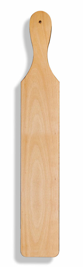 Blank Light Wood Paddle