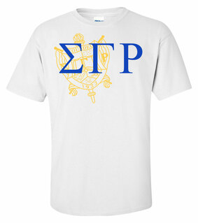 Sigma Gamma Rho Greek Crest - Shield T-Shirt