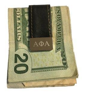Alpha Phi Alpha Money Clip
